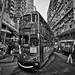 Hong Kong Tram at North Point Market