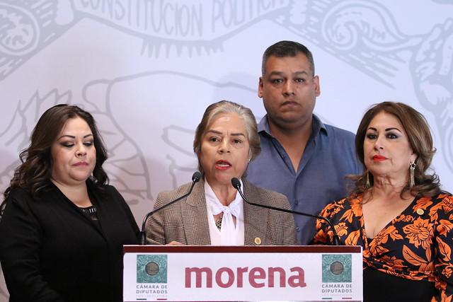 25/02/2020 Conferencia de Prensa Dip. Lorena del Socorro Jiménez Andrade