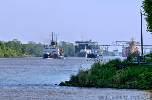 am Nord-Ostsee-Kanal bei Hohenhörn