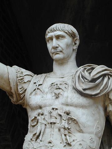 2- الإمبراطور الروماني تراجان - Trajan