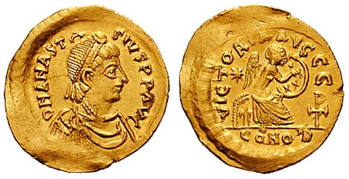 الإمبراطور أناستاسيوس - Anastasius