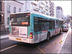 Man NL 223 – RATP (Régie Autonome des Transports Parisiens) / STIF (Syndicat des Transports d'Île-de-France) n°9163