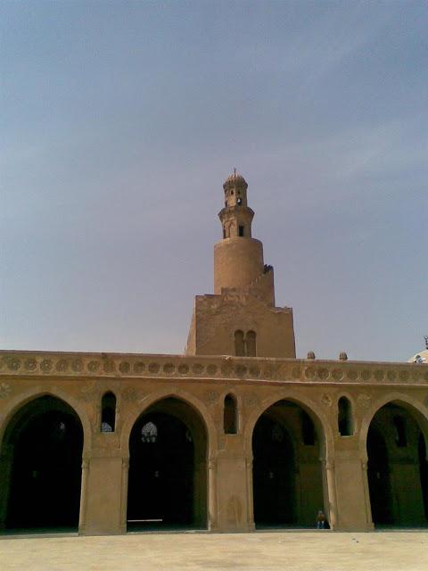 مسجد أحمد بن طولون في القاهرة