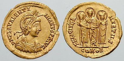 الإمبراطور فالنتينيان الثالث-  Valentinian III
