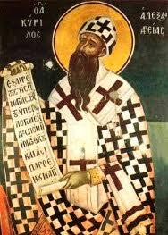 24 - البابا كيرلس الاول عمود الدين (البابا كيرلس الكبير) - Cyrill