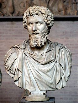 - 4الإمبراطور الروماني سبتيموس سفيروس [  193 م - 211 م ]