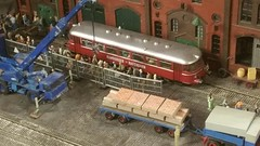 Miniatur Wunderland - Hamburger Hafenbahn Railbus