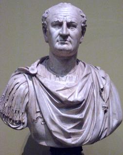 9 - الإمبراطور الروماني فسباسيان 68 م - 79 م .