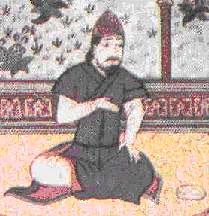 السلطان ألب أرسلان سلطان دولة السلاجقة والتي بلغت ذروة إزدهارها في عصره