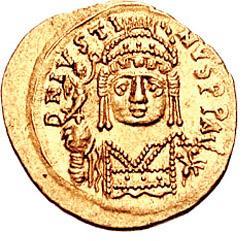 الإمبراطور جستنيان الثاني - I Iustinus