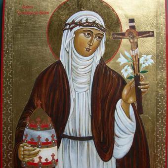 الشهيدة القديسة كاترين