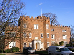 Hertford castle  late 15th C gatehouse