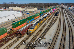 UP 2520 | GE ES44AH-T4C | NS Harris Yard