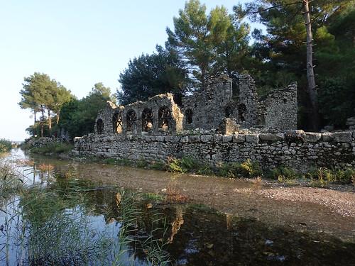 Olympos Ancient City - Vespasian's Bath House