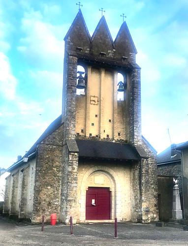 L'eglise medieval d'Agnos