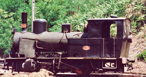 Steam locomotive CP E1