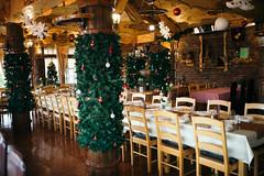 Wedding party restaurant decoration
