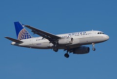 N850UA A.319  United Airlines