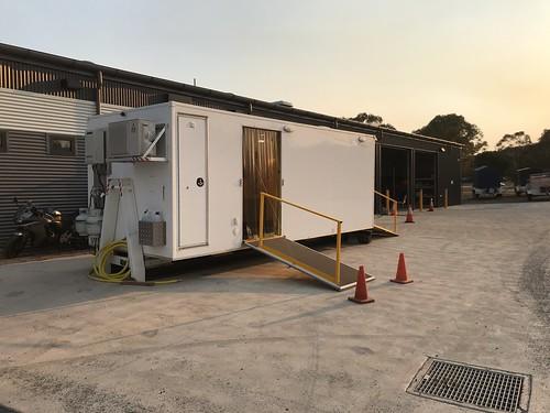 ACT Fire & Rescue | Toilet POD