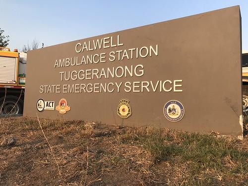 ACT | Calwell Ambulance Station | Tuggeranong State Emergency Service