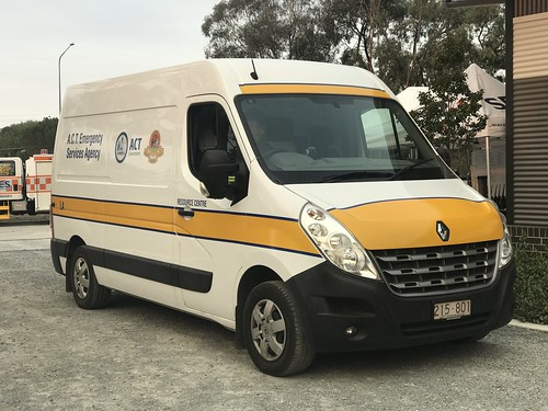 ACT Emergency Services Agency | Resource Centre | Renault Master Van