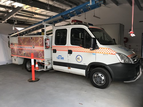 ACT State Emergency Service | TUG62 Storm Response | Iveco Daily 50C18