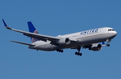 N663UA 767-300(WL) United Airlines