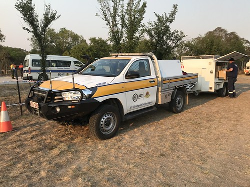 ACT Emergency Services Agency | Workshop | Toyota Hilux