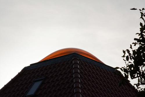 Bovenlicht op het dak. Toplicht?
