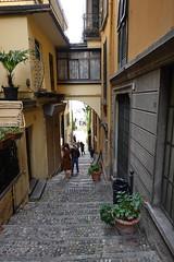 Stairs @ Narrow street @ Bellagio