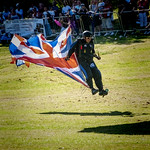 Army Paraglider by Peter Budd