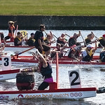 Dragon Boat Racing by Peter Budd