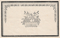 1927 embroidery pattern with fruit basket