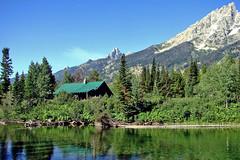 Cabin at Jenny lake, Grand Teton 2011
