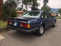 (045) Arktisblau Metallic 1983 BMW 628 CSi E24