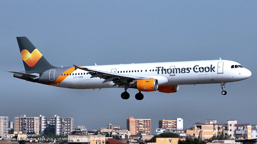 Thomas Cook, Airbus A321-211 > LY-VED (NAP/LIRN 02.08.2019)