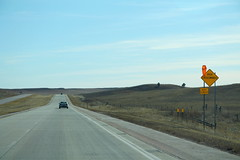 SD79 South - High Crosswinds Sign