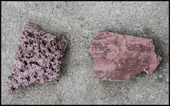 Red Cliffs of Scarborough broken pieces wall of cliffs-2=