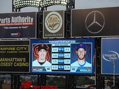 Starting pitchers #45 vs #45