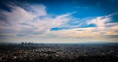 Blue Sky over LA