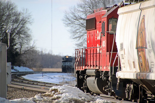 Rolling meet at the Portage East switch