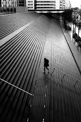 On the shiny steps