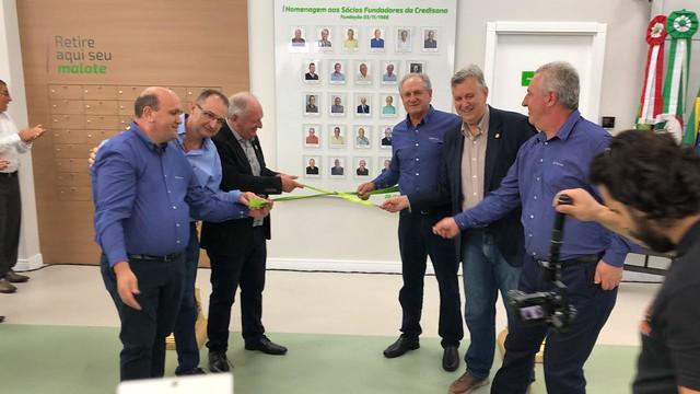 28/02/2020 Inauguração da nova agência do SICREDI em Sananduva