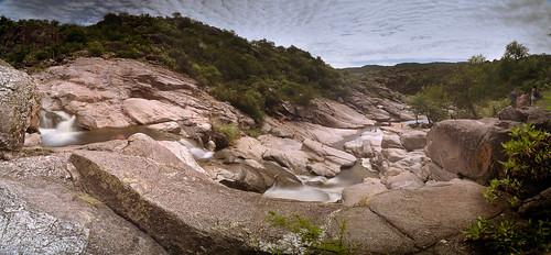 Cascada Mortero de los Zorros, San Lorenzo, Córdoba - Panorámica