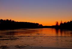 Friday evening sunset