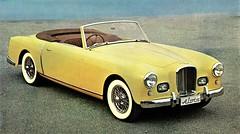 1956 Alvis TC 108G Convertible