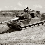 Chieftain Tank Duxford by Dave Minty