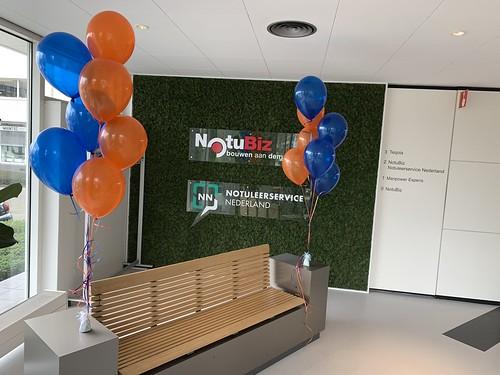 Tafeldecoratie 7ballonnen Bright Answers Brainpark Rotterdam