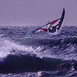 Flying Windsurfer by Henry Brzeski