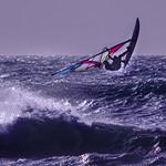 Flying Windsurfer by Henry Brzeski